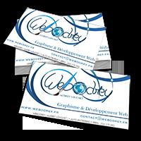 Création de cartes de visites professionnelles